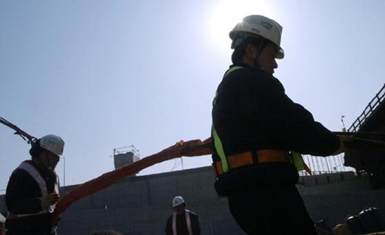서울 한 건설현장에서 근로자들이 일을 하고 있는 모습이다, 본문과 무관함.ⓒ데일리안DB
