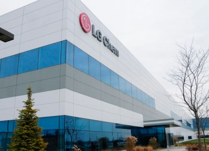 LG화학 미국 미시건주 배터리셀 공장.