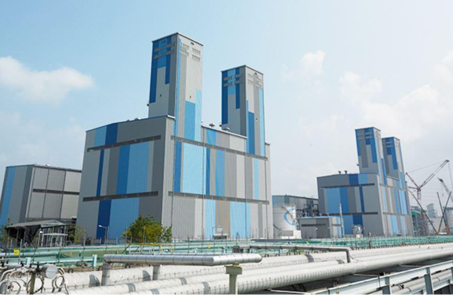 포스코에너지 LNG 발전소.