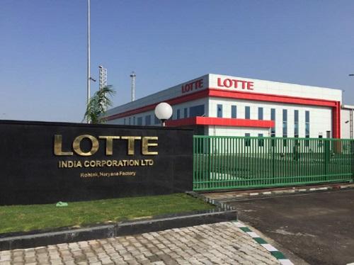 롯데제과 인도 뉴델리 초코파이 공장.