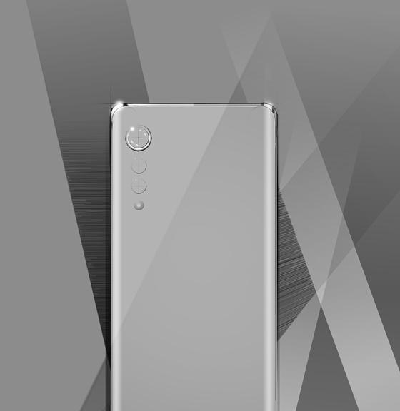 LG전자가 내달 국내 시장에 출시 예정인 전략 스마트폰 디자인 렌더링 이미지.ⓒLG전자