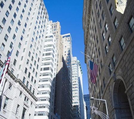 미국 뉴욕 월스트리트가 전경, 본문과 무관함.ⓒ픽사베이