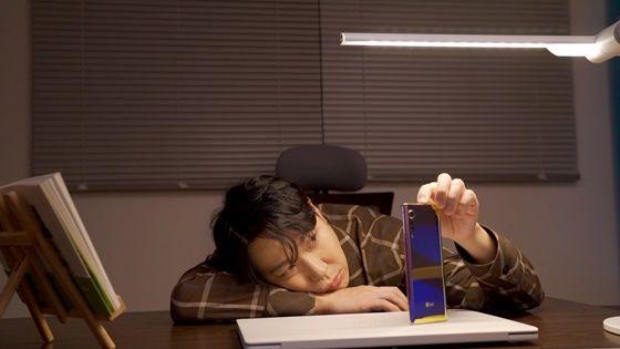 연예인 하하가 출연한 LG 벨벳(LG VELVET) 디지털 캠페인 영상 캡쳐 이미지 ⓒLG전자