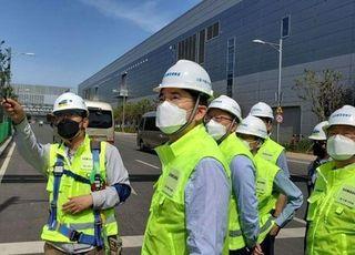 [포토] 이재용 부회장, 중국 시안 반도체 사업장 방문