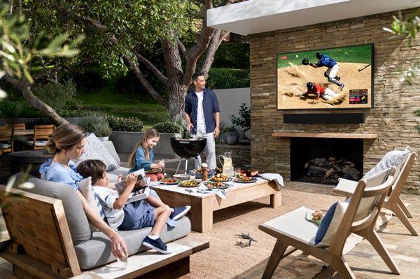 삼성전자의 2020년형 라이프스타일 TV