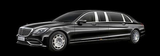 더 뉴 메르세데스-마이바흐 S 650 풀만 ⓒ벤츠 코리아