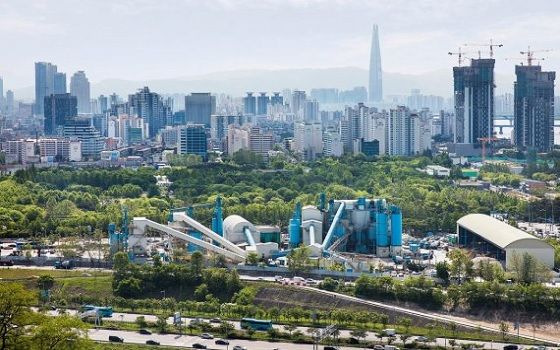 서울 성수동에 위치한 삼표산업 성수공장 전경.ⓒ삼표산업