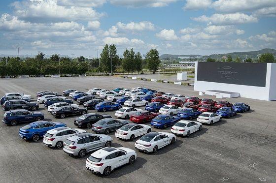 27일 인천 영종도에서 진행된 BMW 신형 5·6시리즈 월드 프리미어 행사 모습 ⓒBMW 코리아