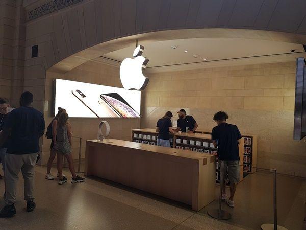 애플 뉴욕 매장 ⓒEBN