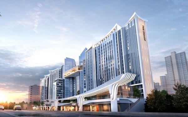 포스코건설이 제안한 서울 서초구 잠원동 신반포21차 재건축 사업 조감도. ⓒ포스코건설