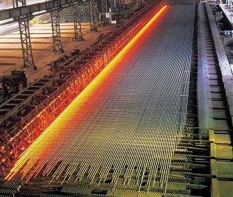 현대제철 당진공장에서 철근을 생산 중인 모습, 본문과 관련 없음.ⓒ현대제철