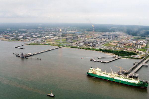나이지리아 보니 LNG플랜트 전경.ⓒ대우건설