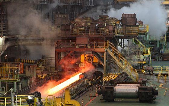 현대제철 당진제철소에서 열간 압연 공정이 이뤄지고 있다.ⓒ현대제철
