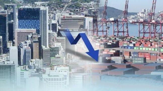 지난 1분기 우리나라 경제성장률(GDP)이 마이너스 성장을 실현했다.ⓒ연합