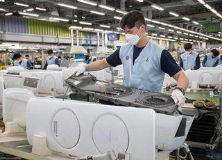 [포토] 삼성전자, 초여름 더위에 무풍에어컨 생산라인 풀가동