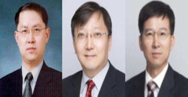 (왼쪽부터)김근익, 최성일, 김도인 금융감독원 부원장.ⓒ금융위원회