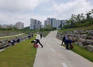 롯데건설, 환경의 날 기념 환경정화 활동 펼쳐