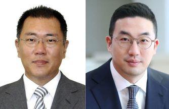 현대차그룹 정의선 수석부회장(좌) LG그룹 구광모 대표(우)ⓒ각사