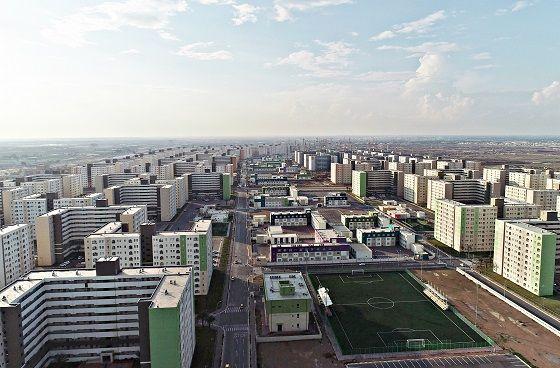 이라크 비스마야 신도시 전경.ⓒ한화건설