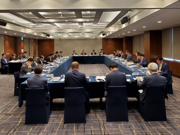 2020년도 2차 해외건설 수주플랫폼 회의 모습.ⓒ해외건설협회