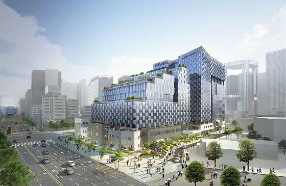 공평 15·16지구 도시정비형 재개발 투시도.ⓒ현대엔지니어링