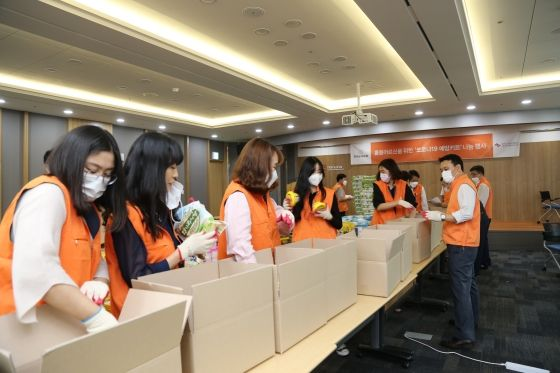 한화손해보험 서울지역본부 봉사단이
