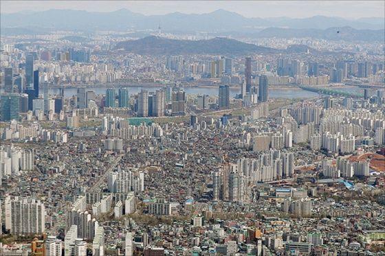 서울 시내 전경, 본문과 무관함.ⓒ데일리안DB