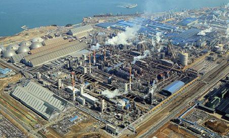 제철소 부생가스를 통해 수소를 생산하는 현대제철 당진제철소. ⓒ현대제철