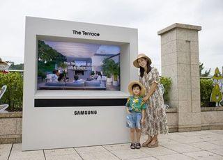 [포토] 삼성전자, 서울신라호텔에 '더 테라스' 설치