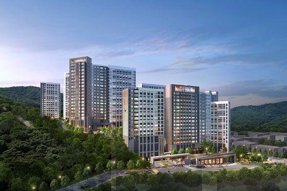 현대건설이 오는 8월 중 분양 예정인 경기도 광주시 삼동1지구 B2블록 소재