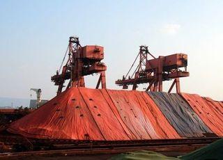 中, 철광석價 오름세…유통가격 보합