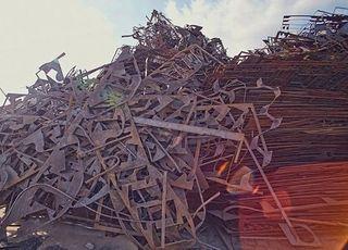 4일 국내 고철값 유지…톤당 26만원