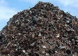 7일 국내 고철값 유지…톤당 26만5000원