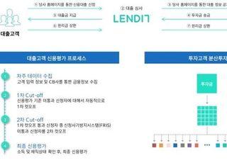렌딧, 나이스평가정보 기술신용평가 최상위 등급 획득