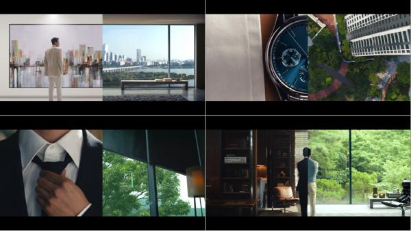 동부건설 센트레빌 2차 광고 장면.ⓒ동부건설