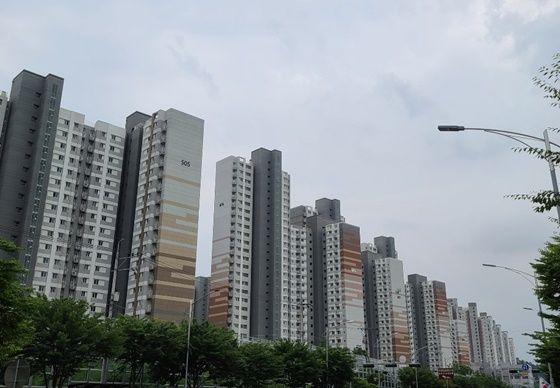 경기도 구리시 갈매지구 아파트촌 풍경.ⓒEBN