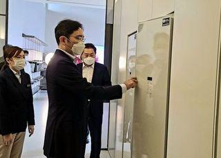 [포토] 이재용 부회장, 가전제품 판매 현장 점검 나서