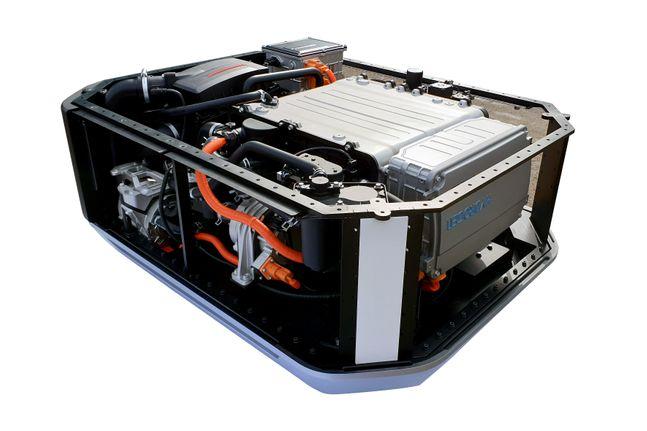 현대자동차가 GRZ 및 유럽 에너지 솔루션 스타트업에 수출한 넥쏘 수소연료전지 시스템.ⓒ현대차
