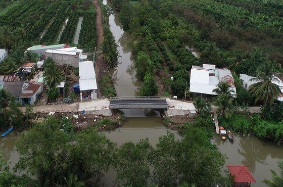베트남 껀터시 카이랑 지역 스틸브릿지 전경.ⓒ포스코