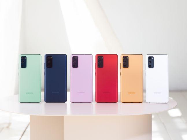 삼성전자의 신형 스마트폰