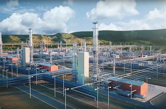 포스코가 스테인리스스틸을 공급 중인 15조원대 규모 러시아 아무르 가스처리플랜트 시설 조감도.ⓒ포스코