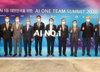 LG전자, 'AI 원팀 서밋' 참가…인공지능 경쟁력 강화 방안 논의