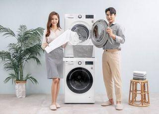 LG전자, 인공지능 품은 12kg 용량 '트롬 세탁기 씽큐' 출시