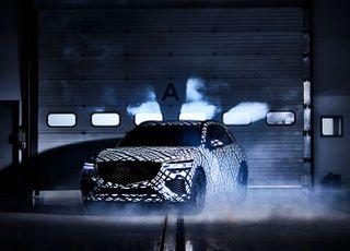 """제네시스, 지-매트릭스 패턴으로 감싼 GV70 공개…""""중형 SUV 새로운 기준 제시"""""""