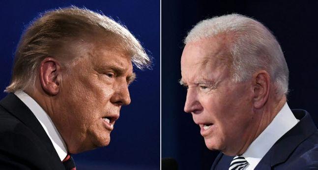 도널드 트럼프 미국 대통령(좌)과 조 바이든 민주당 대통령 후보 주자(우). ⓒ연합뉴스