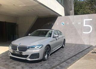 """[시승기] """"테스형, 나야 나""""···명불허전 BMW 뉴 5"""