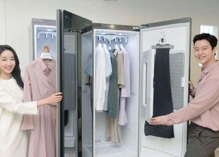 LG전자, 옷 탈취·살균·주름 관리 '트롬 스타일러 블랙2' 출시