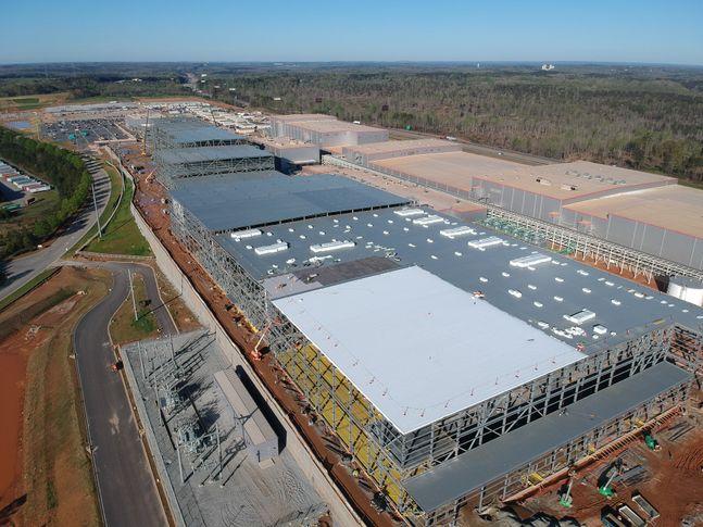 SK이노베이션 미국 조지아 공장 건설현장. ⓒSK이노베이션
